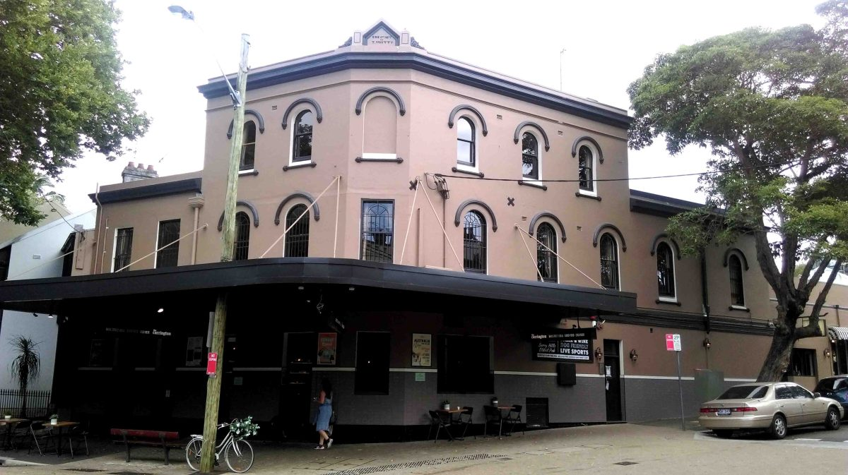 The Carrington Hotel, Surry Hills